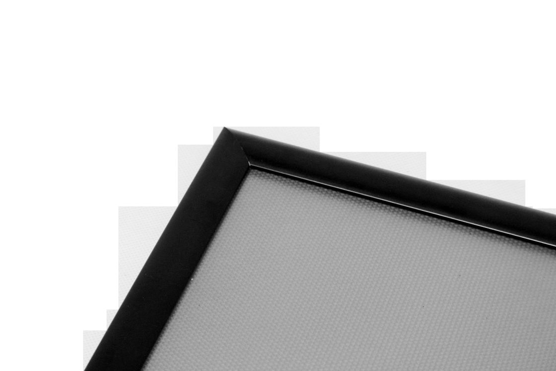 Anti - Wind Snap Open Poster Frame 0.5mm PVC Cover And 1.25mm PS Backer